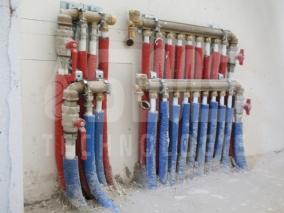 Realisations chauffage central et des chaudi res bois for Chauffage central au gaz